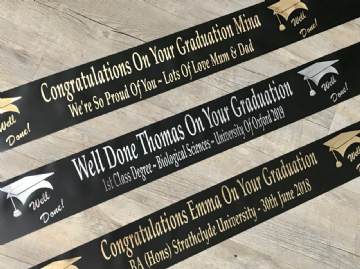 Graduation Banner Personalised